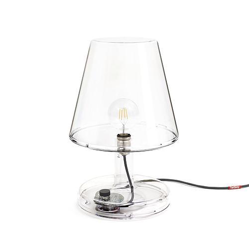 LAMPE A POSER FATBOY® TRANSPARENTE