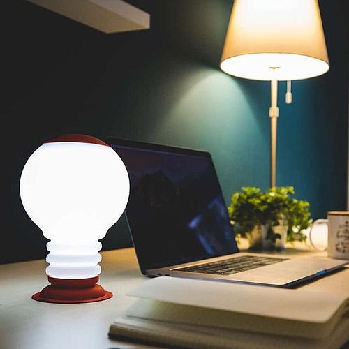 LAMPE VASE SUSPENDUE RECHARGEABLE