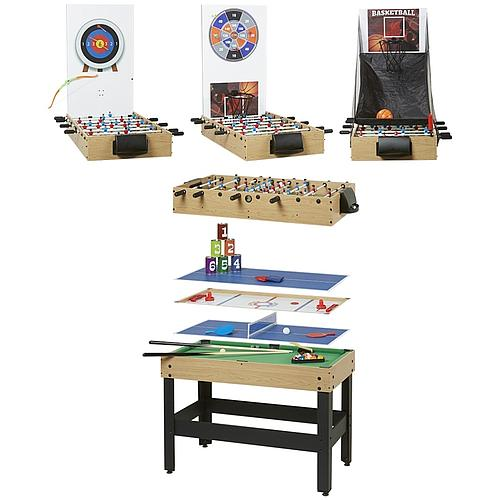 TABLE DE JEUX MULTISPORTS