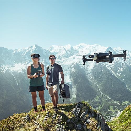 DRONE CAMÉRA 4K HDR + LUNETTES VR PARROT