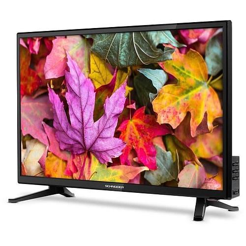 TV LED HD SCHNEIDER ECRAN PLAT 24'
