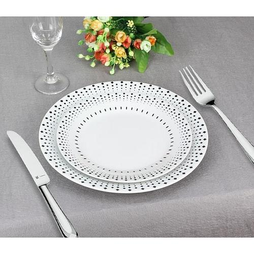 SERVICE DE TABLE 18 PIECES EN PORCELAINE