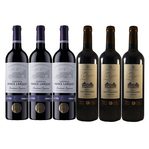 6 GRANDS VINS DE BORDEAUX