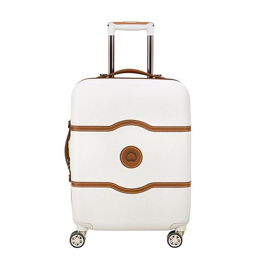 VALISE CABINE SLIM TROLLEY 55 CM 4 DOUBLES ROUES DELSEY