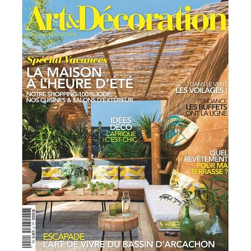 1 AN D'ABONNEMENT AU MAGAZINE ART & DÉCORATION