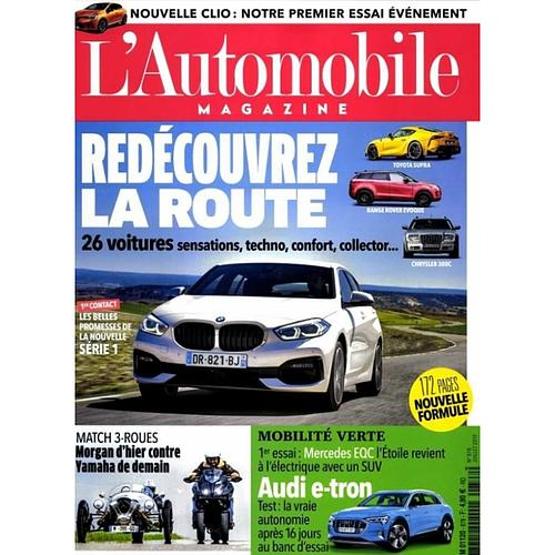2 ANS D'ABONNEMENT A L'AUTOMOBILE MAGAZINE