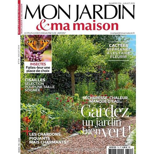 1 AN D'ABONNEMENT AU MAGAZINE MON JARDIN & MA MAISON