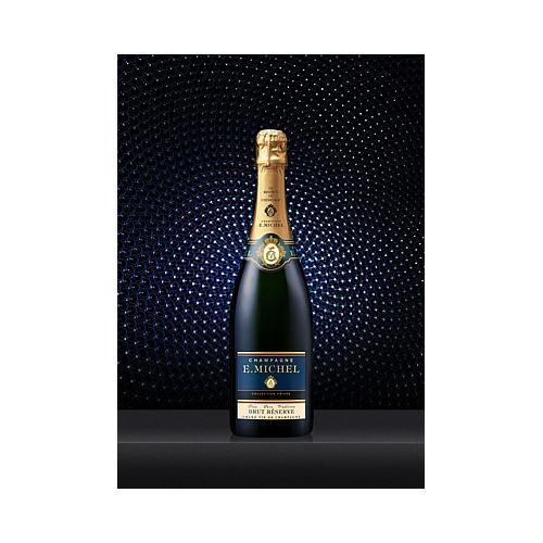 CHAMPAGNE E.MICHEL Brut Réserve 75cl  2 bouteilles