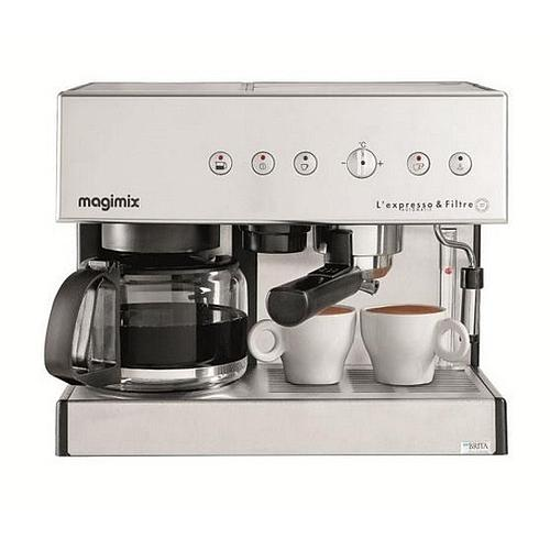 MACHINE EXPRESSO DOSETTES + CAFETIERE MAGIMIX®