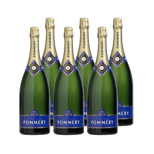 6 BOUTEILLES CHAMPAGNE POMMERY® BRUT ROYAL