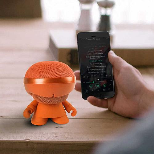 ENCEINTE BLUETOOTH STEREO XBOY ORANGE