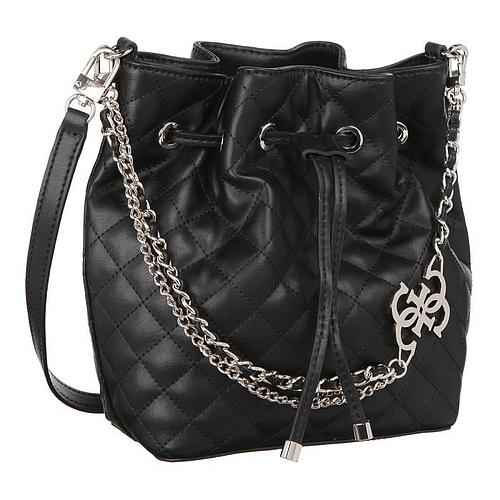 SAC A MAIN MATELASSAGE NOIR GUESS