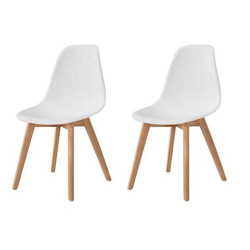 DUO DE CHAISES DESIGN SCANDINAVE