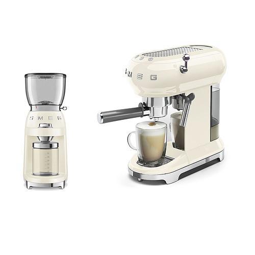 MACHINE EXPRESSO ET BROYEUR A CAFÉ SMEG