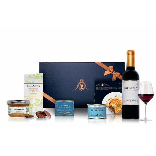 COFFRET GOURMAND ENIVRANT COMTESSE DU BARRY