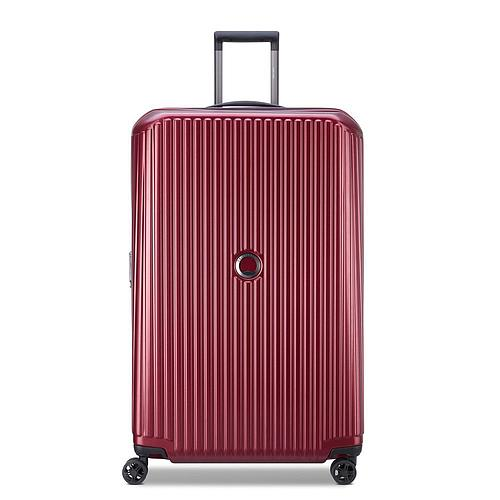 VALISE TROLLEY EXTENSIBLE ROUGE 77 CM DELSEY