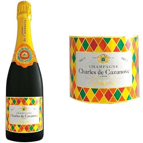 CHAMPAGNE CHARLES DE CAZANOVE ARLEQUIN AOC