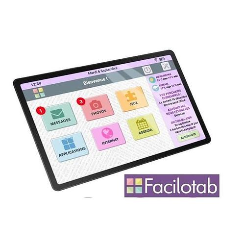 TABLETTE TACTILE POUR SENIORS