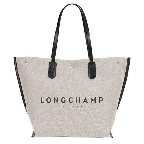 SAC SHOPPING EN TOILE DE COTON LONGCHAMP