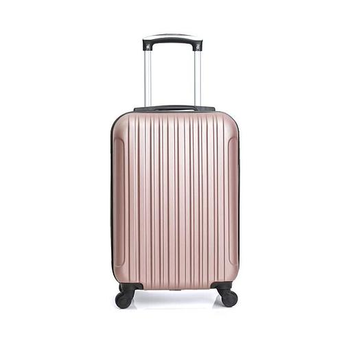 VALISE CABINE OR ROSE 50x35x20 cm