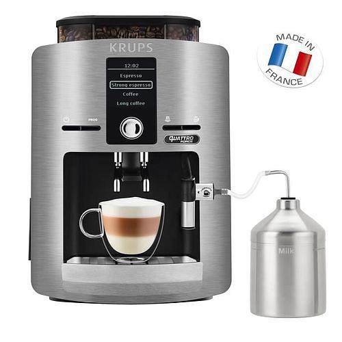 MACHINE À CAFÉ KRUPS - BROYEUR GRAINS - ÉCRAN LCD