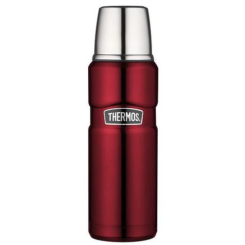 BOUTEILLE THERMOS ISOTHERME - 470 ML - ROUGE