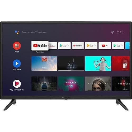 TV LED - CONTINENTAL EDISON - ANDROÏD -  HD - 32'' (80 cm) - WIFI - BLUETOOTH - COMMANDE VOCALE
