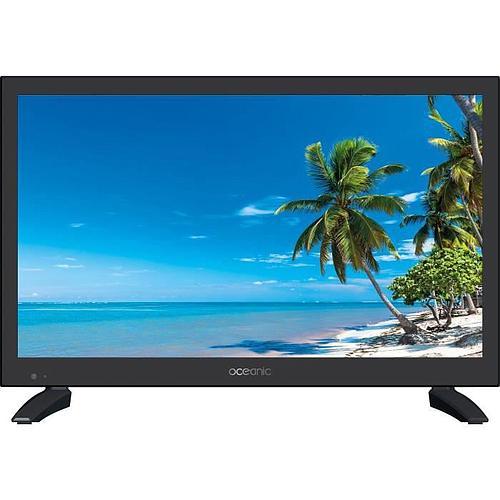 TÉLÉVISEUR LED - OCÉANIC -19,5'' (49,5 cm) - HD (1366x768) - HDMI - USB