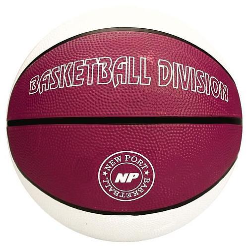 BALLON DE BASKETBALL - BLANC