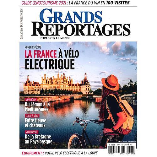 1 AN D'ABONNEMENT AU MAGAZINE GRANDS REPORTAGES