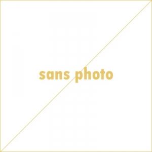 FAUTEUIL EN TISSU BLEU + PIEDS BOIS - SCANDINAVE - L 117 X P 92 CM